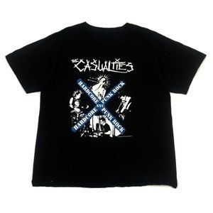 Other - 2005 The Casualties Band T Shirt Vintage Tee M/L